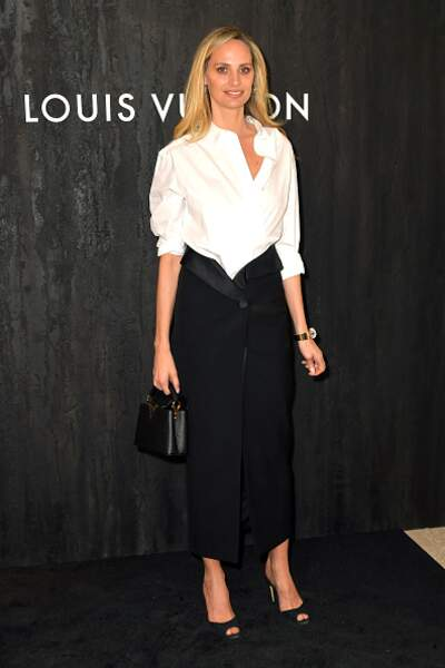 Défilé Vuitton : Lauren Santo Domingo et son look faussement sage