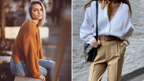 Comment porter le gilet en grosse maille avec style?