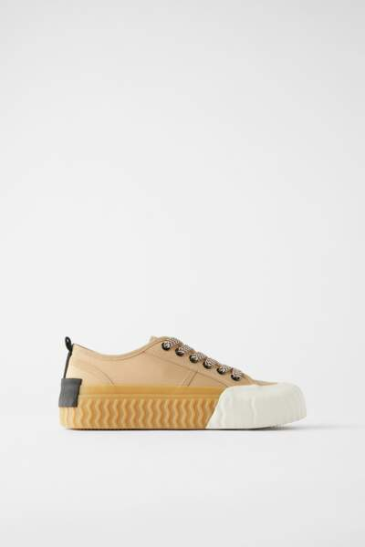 Baskets Zara, 39,95€.
