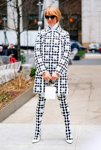 Do Céline Dion : le total look imprimé aussi féminin que moderne