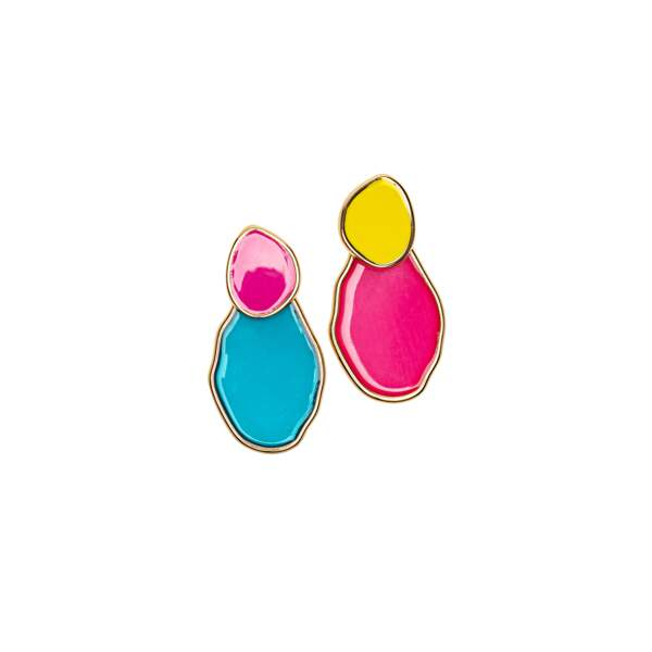 Boucles d'oreilles Balabooste, 9,90€.