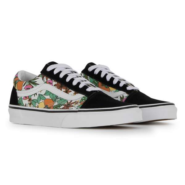 "Baskets ""Old Skool Tropic"" Vans chez Courir, 80€."
