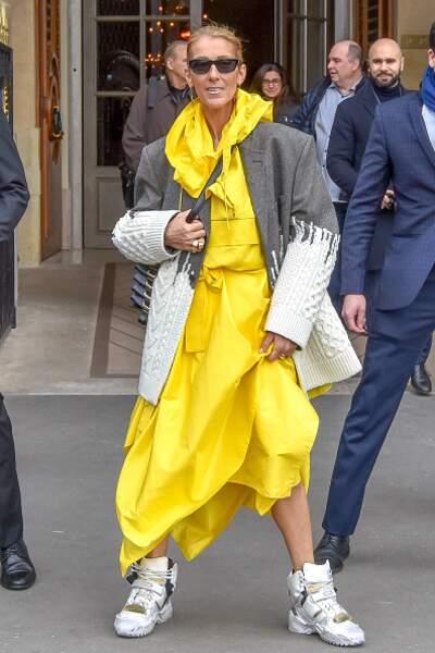 Don't  Céline Dion : un mauvais match de différents codes vestimentaires