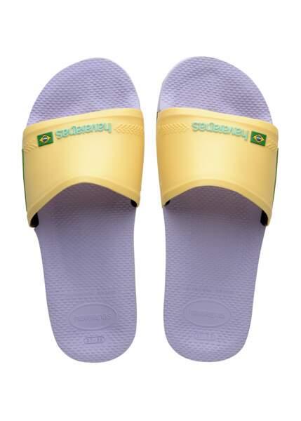 Sandales Havaianas, 28€.