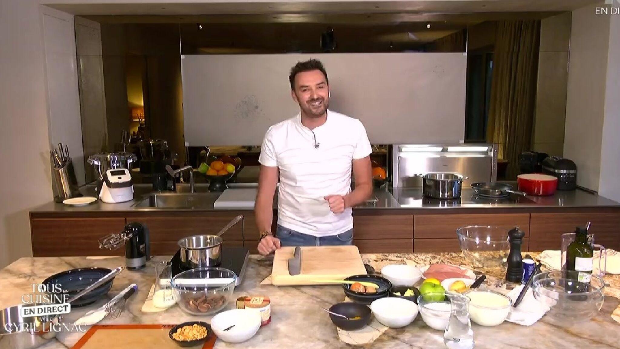 Confine Cyril Lignac Cuisinera Tous Les Jours En Direct Sur M6