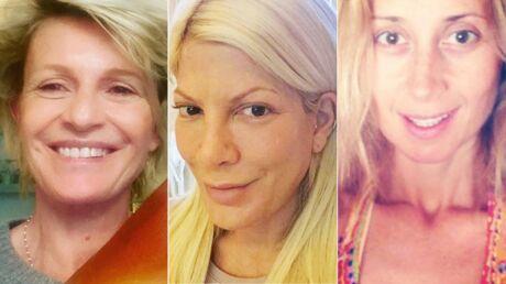 PHOTOS Sophie Davant, Lara Fabian: ces stars qui s'affichent sans maquillage sur Instagram