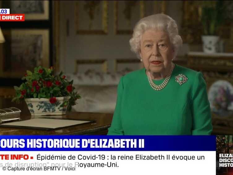 Discours d'Elizabeth II : pourquoi la reine devait-elle absolument s'exprimer? - Voici