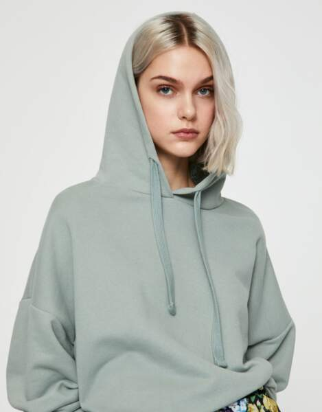 Sweat basique, Pull and bear, 12,99€