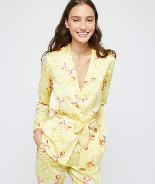 Chemise de pyjama satinée, Etam, 29,99€