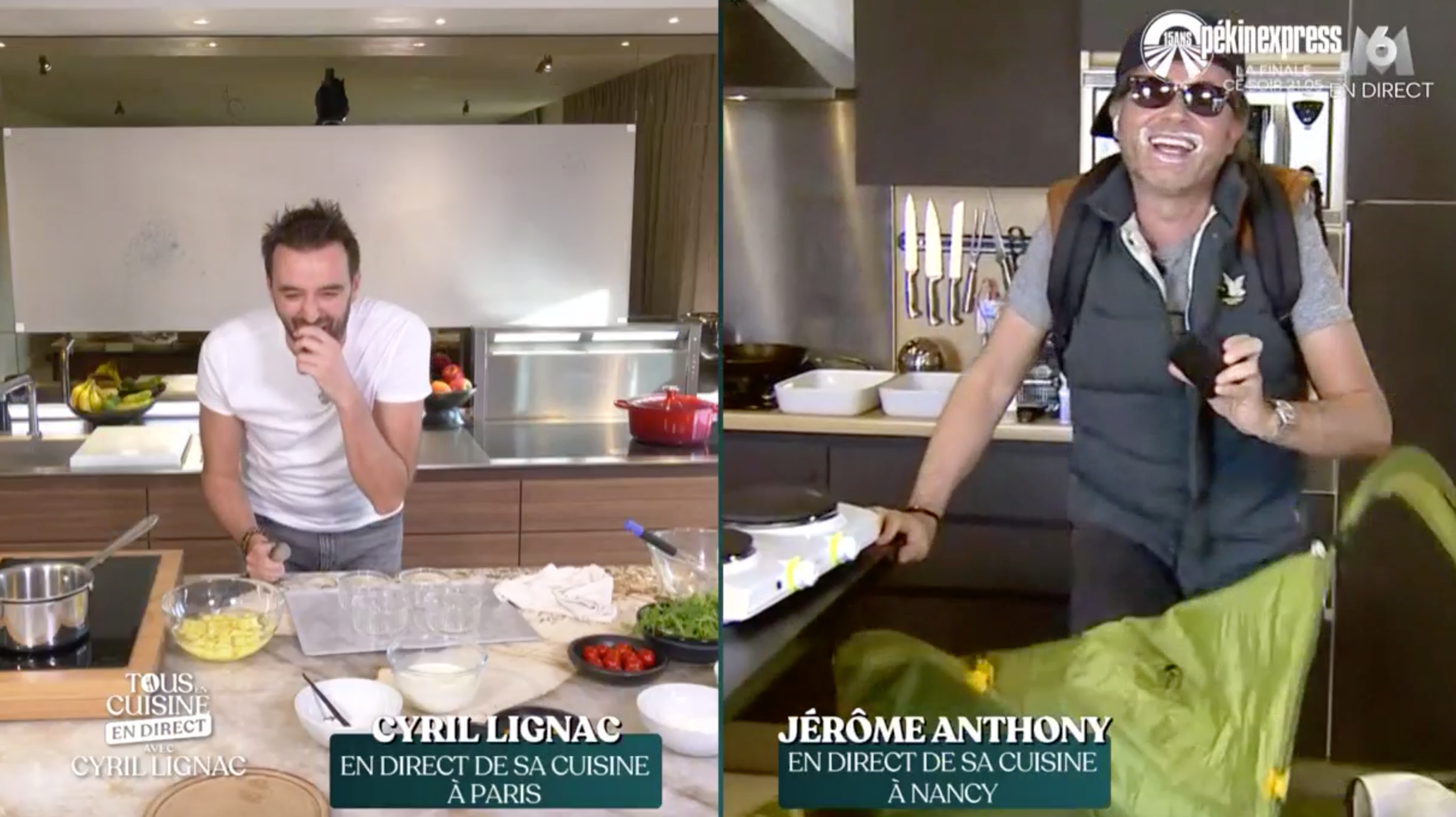 Video Tous En Cuisine Jerome Anthony Chute Lourdement Et
