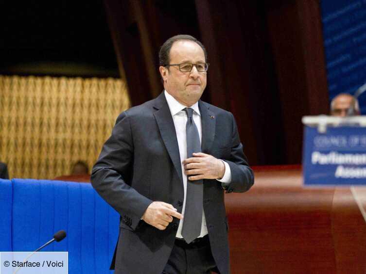 François Hollande : son message plein d'émotions après le décès de son père - Voici
