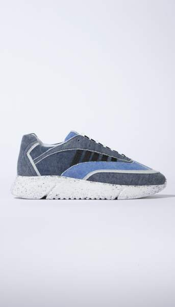 D.N.A. RUNNER en denim recyclé, Rise of Human, 180€