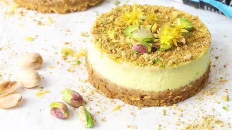 La recette du cheesecake avocat et pistaches à faire avec vos enfants!