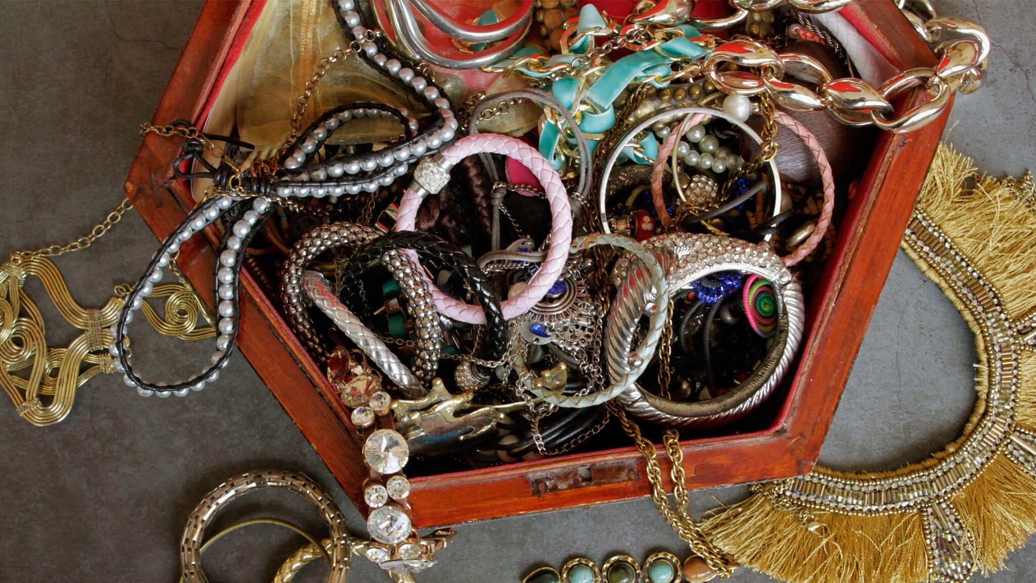 bijoux fantaisie nettoyage