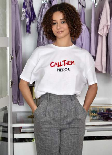 T-shirt Call Them Heroes, Jennyfer, 12,99€