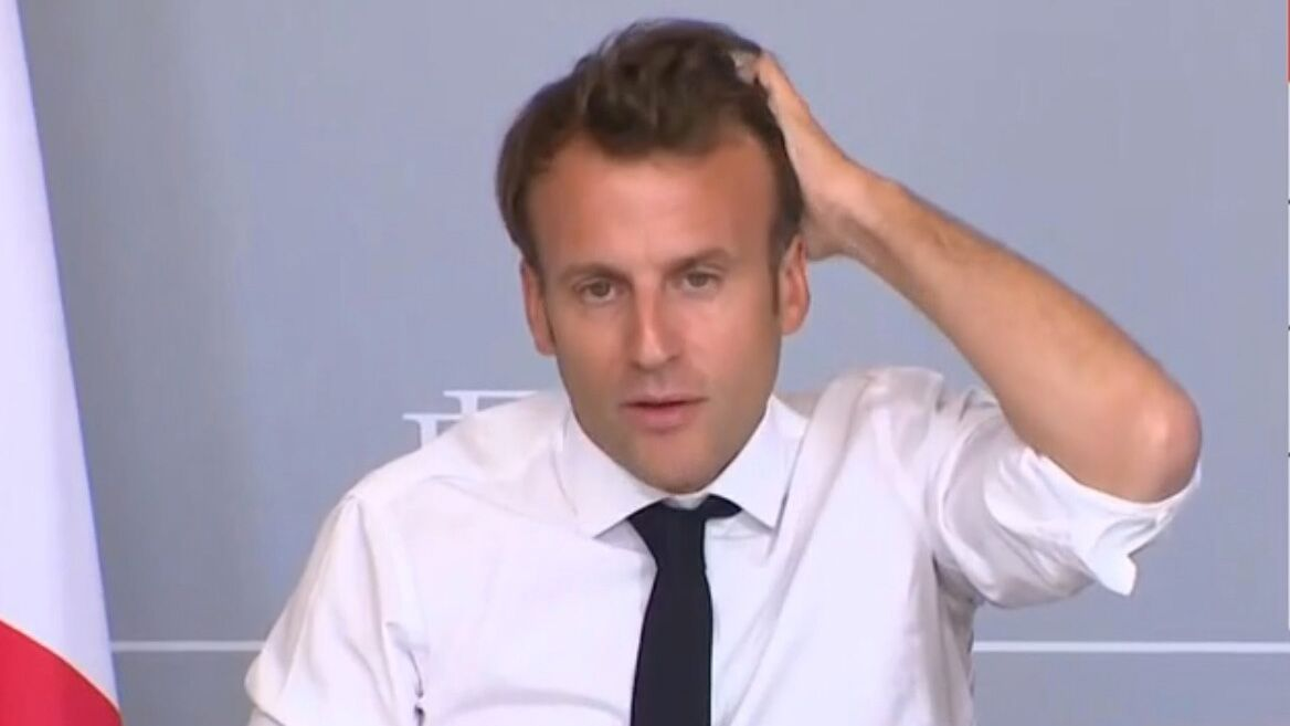 Emmanuel Macron : son look décontracté pour évoquer le monde de la ...