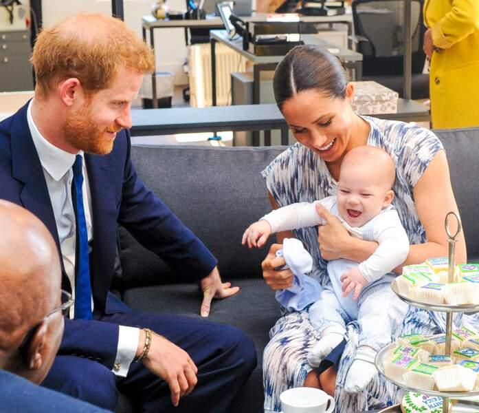 Le premier voyage d'Archie, en Afrique du Sud, à 4 mois