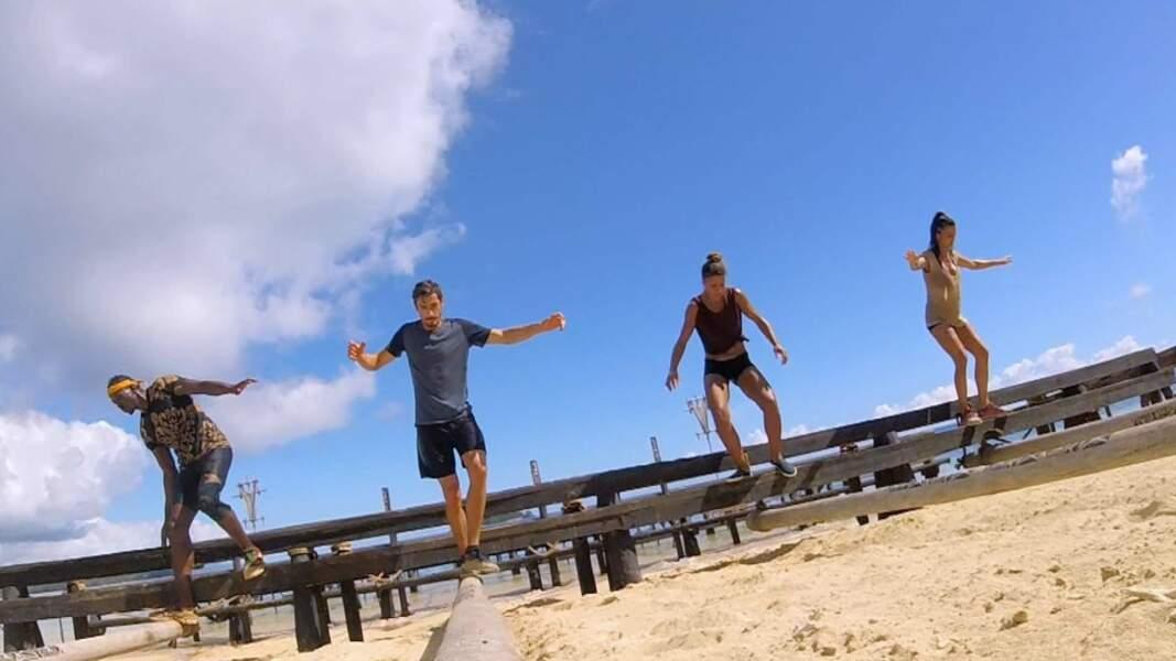 Koh Lanta l'île des Héros. Episode 9