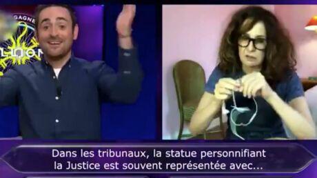 Qui veut gagner des millions: Valérie Lemercier laisse en plan Camille Combal en pleine question