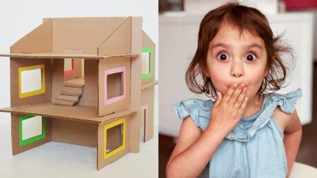 DIY: fabriquez facilement une maison de poupées pour vos enfants
