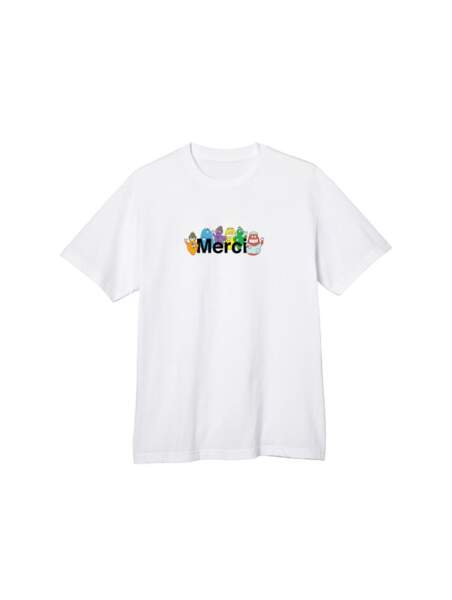 T-shirt Merci x BARBAPAPA, Merci, 33€