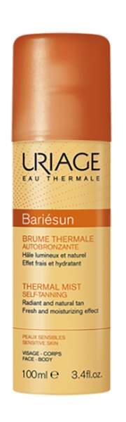 Brume thermale autobronzante Bariésun, Uriage, 13€