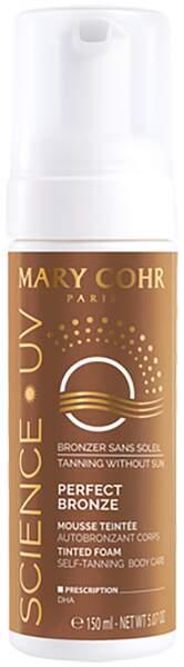 Perfect Bronze mousse teintée, Mary Cohr, 29€