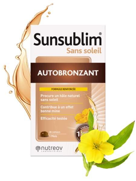 Sunsublim sans soleil autobronzant, Nutréov Laboratoires, 19,70€ les 28 capsules