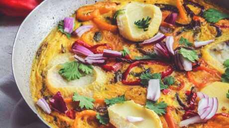 Frittata aux poivrons: cette recette va vous faire voyager