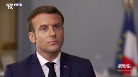 VIDEO Emmanuel Macron évoque les «doutes» qu'il a eus pendant la gestion de la crise sanitaire