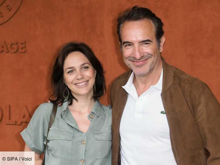 Nathalie Péchalat : confidences sur son confinement avec Jean Dujardin et sa fille - Voici