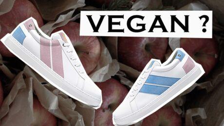 Basket vegan: vous ne devinerez jamais la matière de ces chaussures!