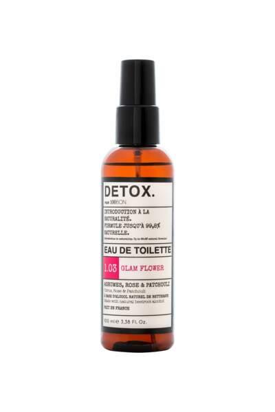 Eau de toilette Detox. 100 ml, 19,49 €, 100Bon chez Monoprix.