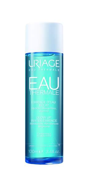 Eau thermale Essence d'eau éclat. 100 ml, 17,90 €, Uriage.