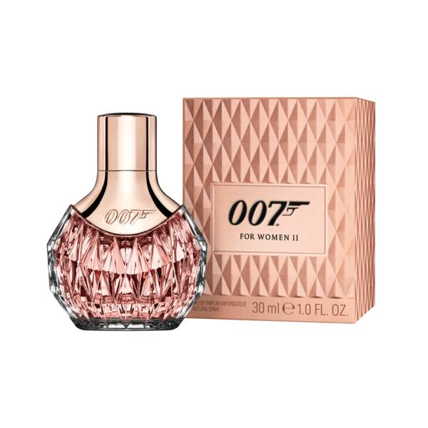 Parfum James Bond Women II. 30 ml, 19,95 € en exclusivité chez Carrefour.
