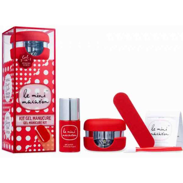 Kit semi-permanent. Rouge Cerise, 34,90 €, Le Mini Macaron.