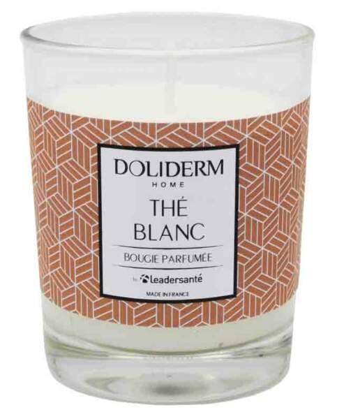 Bougie Parfumée Thé Blanc. 100 gr, 4,90 €, Doliderm.