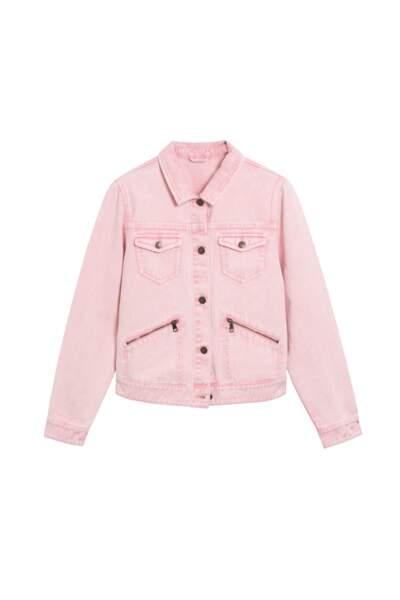 Veste en jean, La Halle, 29,99€