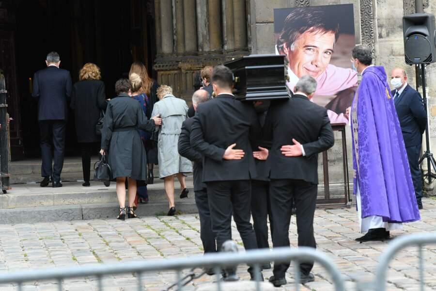 Obsèques de Guy Bedos en l'église Saint-Germain-des-Prés