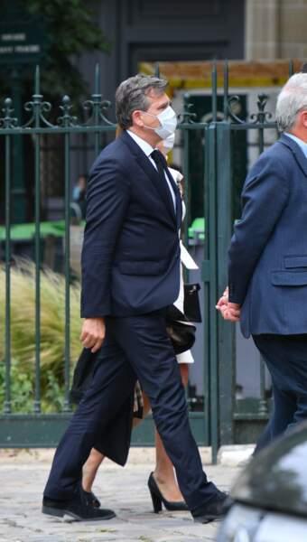 Arnaud Montebourg aux obsèques de Guy Bedos