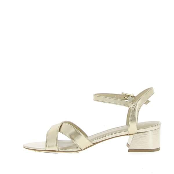 Sandales Victoria dorées, André, 69€