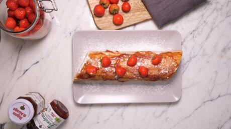 voici-une-recette-de-roule-aux-fraises-trop-facile