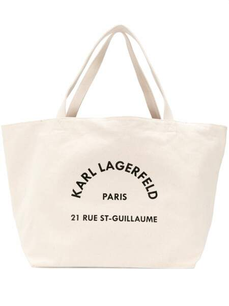Sac cabas Rue Saint Guillaume, Karl Lagerfeld, 69€ sur Farfetch
