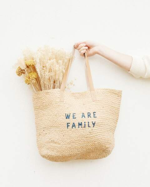 Le panier We are Family, Emoi Emoi, 58€