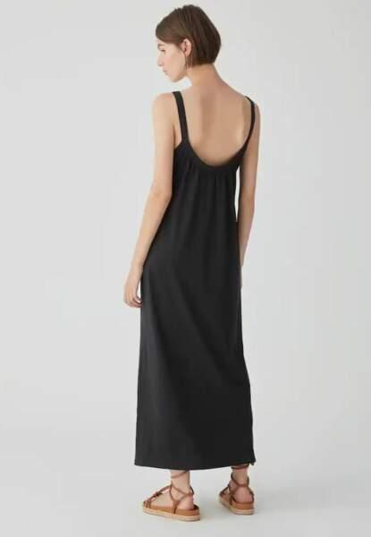 Robe longue à fines bretelles, Pull & Bear, 15,99€
