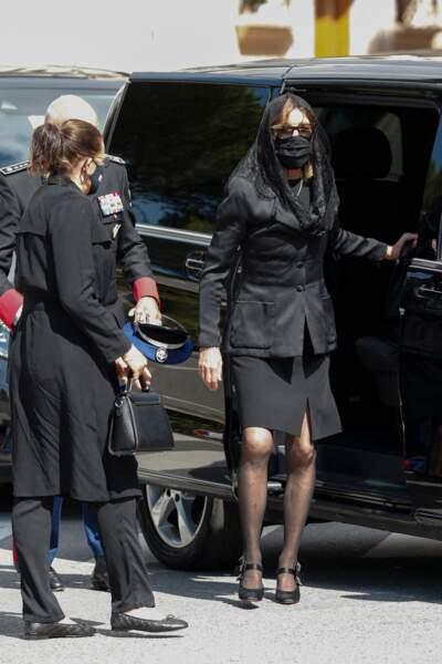 Les deux soeurs, Caroline et Stéphanie de Monaco sont arrivées ensemble à la cérémonie