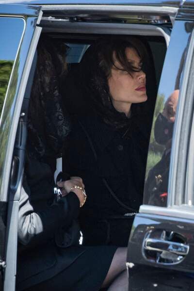 Charlotte Casiraghi lors de son arrivée à la Cathédrale de Monaco