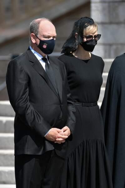 Le prince Albert II de Monaco et son épouse la princesse Charlene ce mercredi 17 juin