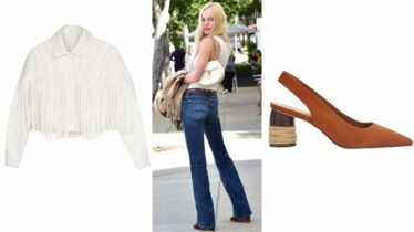 Une cowgirl chic!