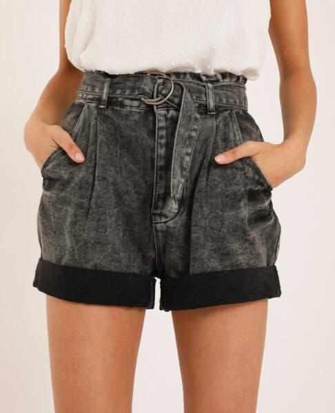 Short en jean gris, Pimkie, 25,99€